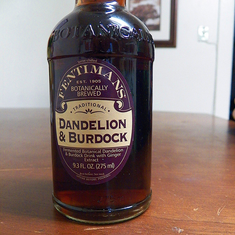 Fentimans Dandelion and Burdock Traditional Botanically Brewed Soda Review, Forkable