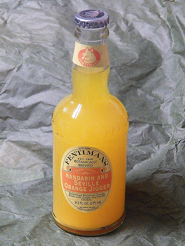Fentimans Seville and Mandarin Orange Jigger