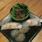 Sakoo Sai Moo & Beef Larb