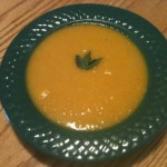 Roasted Buttercup Squash Soup