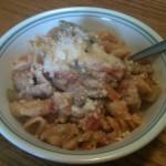 Fia's Tomato Cream Pasta