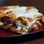 Three Mushroom Lasagna