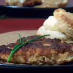 Chicken-Fried Chicken with Biscuits & Gravy
