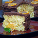 Lemon Cake (with chocolate frosting)
