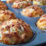 Bacon Cheddar Buttermilk Muffins