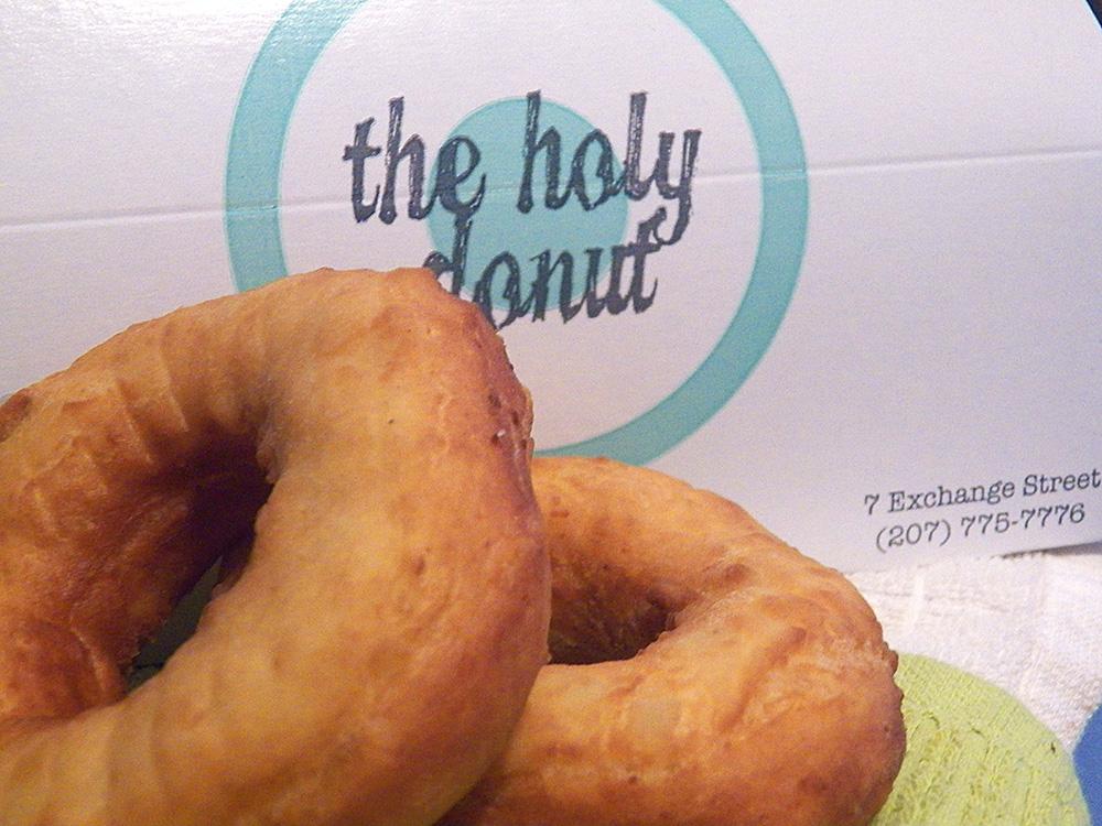 Holy Donut, Portland Maine, Forkable
