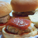 Chicken Parmesan Slider