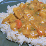 Leftover Squash & Turkey Curry