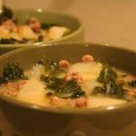 Tuscan Sausage & Kale Soup (Zuppa Toscana-esque)